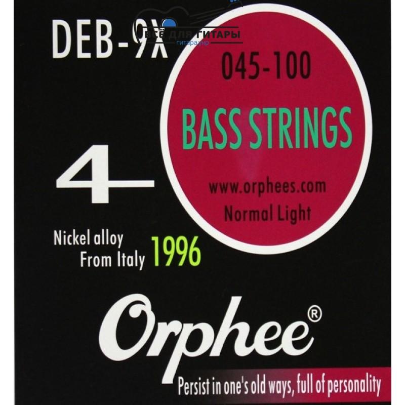 Струны для бас-гитары Orphee DEB-9X