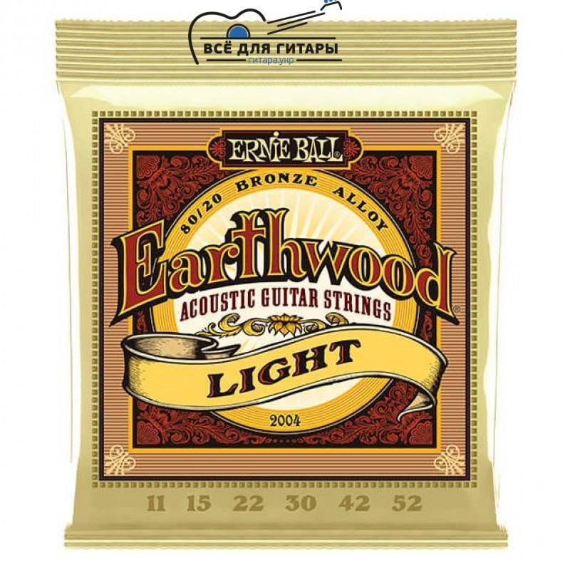 Ernie Ball 2004 Earthwood Bronze Light