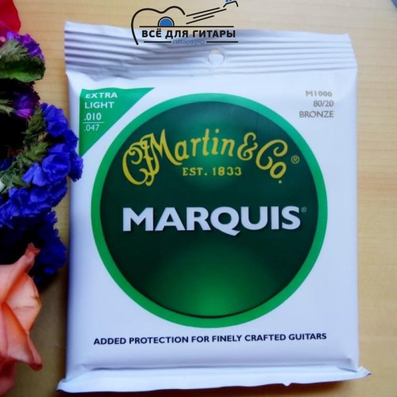 Martin M1000 Marquis 80/20 Bronze Extra Light