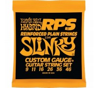 Ernie Ball 2241 Reinforced Plain Strings 9-46 RPS-Hybrid Slinky