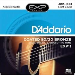 DAddario EXP11 Coated Bronze 12-53 Light