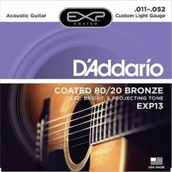 DAddario EXP13 Coated Bronze 11-52 Custom Light