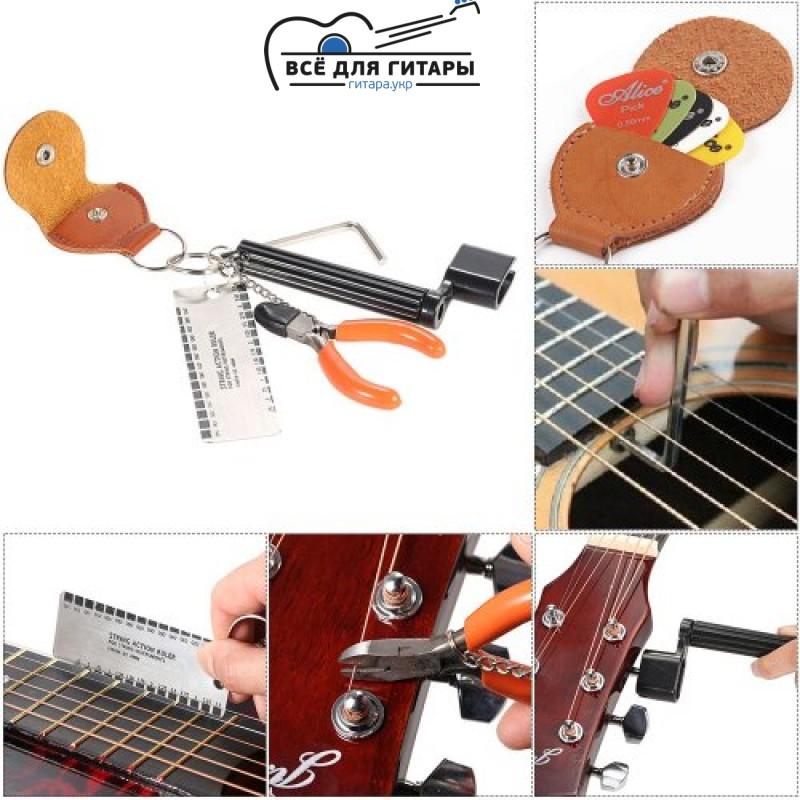 поменять струны на гитаре