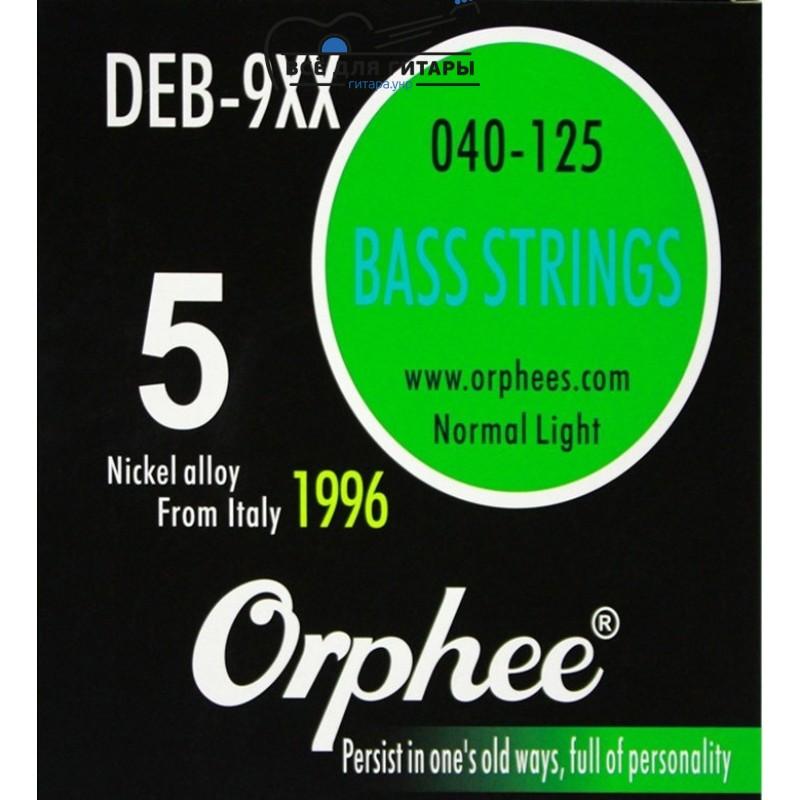 Струны для бас-гитары Orphee DEB-9XX