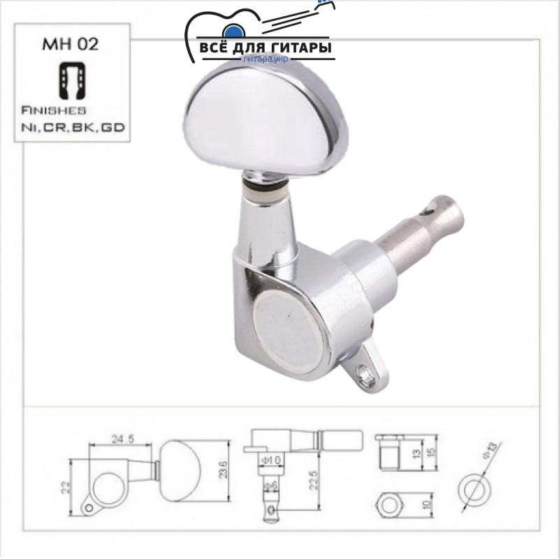 Комплект колков Metallor MH-02-CR (6 шт)