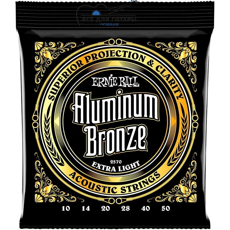 Ernie Ball 2570 Aluminum Bronze Extra Light