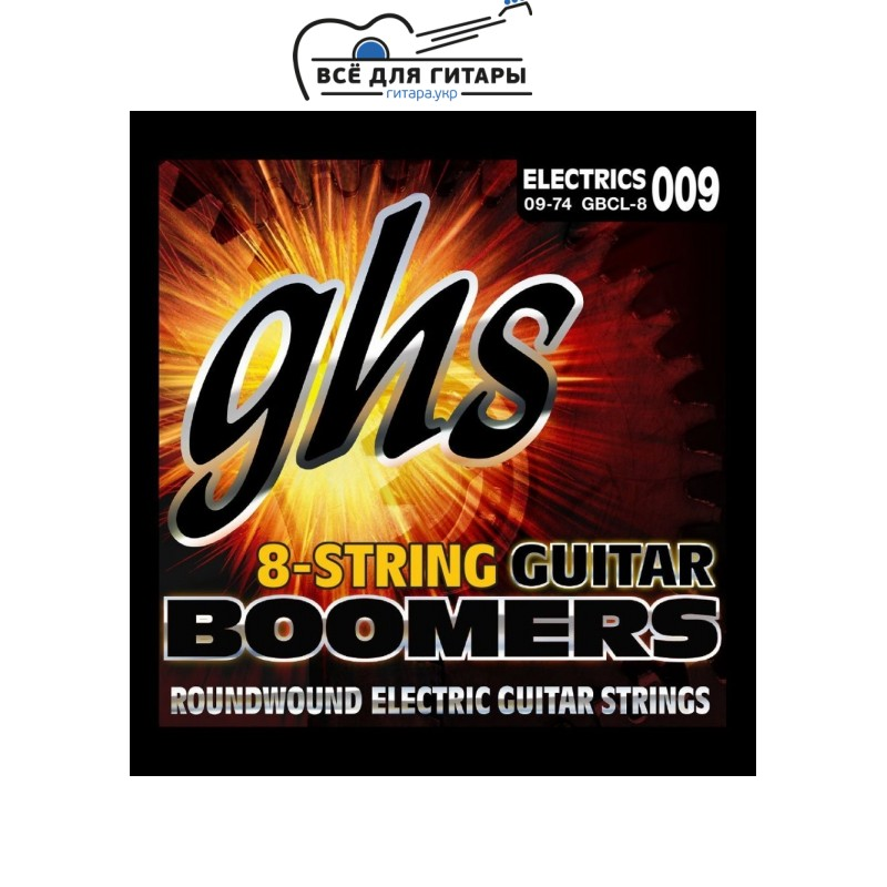 GHS Boomers GBCL-8 9-74 8-string