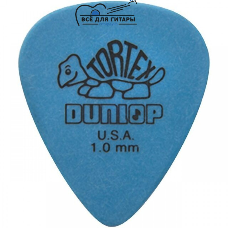 Медиатор Dunlop Tortex Standard 1.0 mm