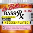 La Bella RX-N5D Rx Nickel 45-130 5-String Bass