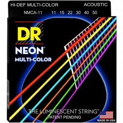 DR Strings Hi-Def NEON Multi-Color (011-050)