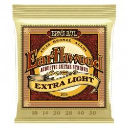 Ernie Ball 2006 Earthwood Bronze Extra Light (010-050)