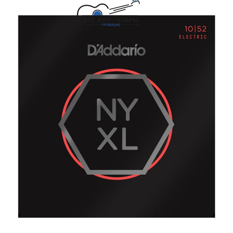DAddario NYXL1052 NYXL 10-52 Light Top / Heavy Bottom