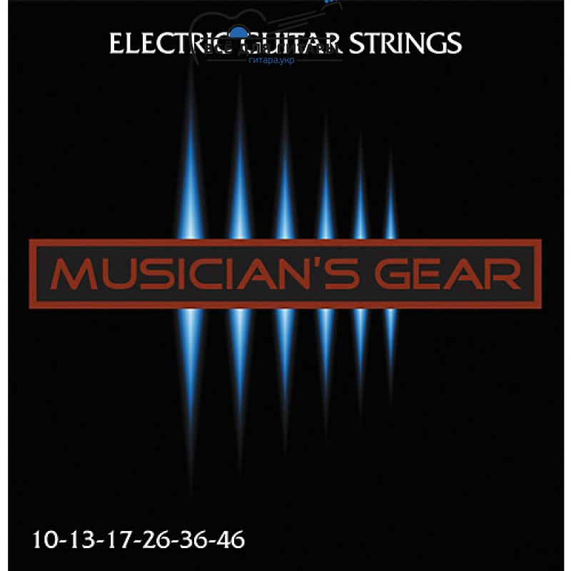 Musician's Gear Electric 10 Nickel Plated Steel