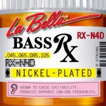 La Bella RX-N4D Rx Nickel 45-105 4-String Bass