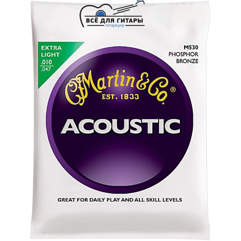 Martin M530 Phosphor Bronze Extra Light