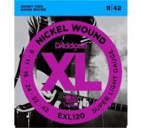DAddario EXL120 Nickel Super Light (009-042)