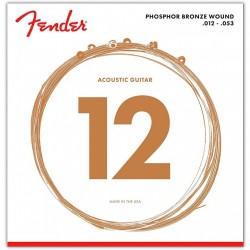 Fender 60L Phosphor Bronze Light (012-053)