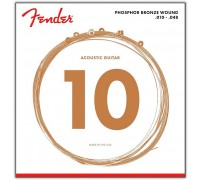 Fender 60XL Phosphor Bronze Extra Light (010-048)