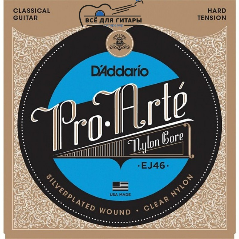 DAddario EJ46 Pro-Arte Nylon Hard Tension