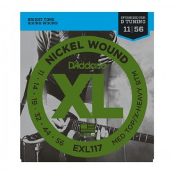 DAddario EXL117 XL 11-56 Medium / Extra Heavy