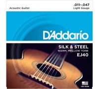 DAddario EJ40 Silk & Steel 11-47 Light