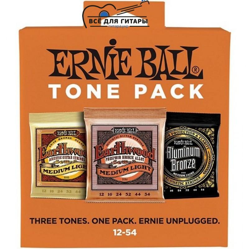 Ernie Ball Tone Pack 12-54 Medium Light