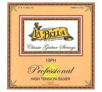 La Bella 10PH Professional High Tension Silver