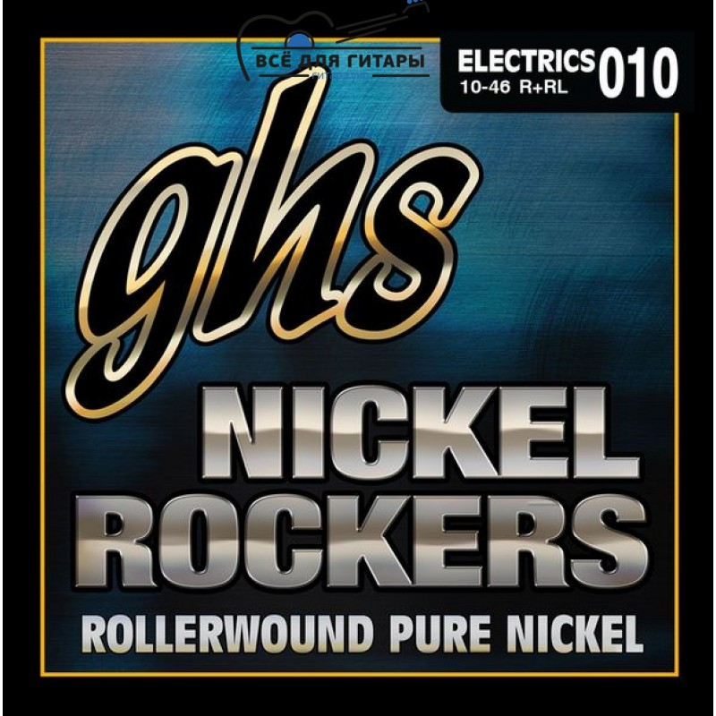 GHS Nickel Rockers R+RL 10-46 Light