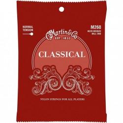 Струны Martin M260 Ball-End Regular Tension для классической гитары