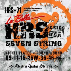 La Bella HRS-71 7-string 9-64