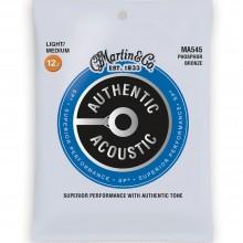 Martin MA545 SP Phosphor Bronze Authentic 12.5-55 Light/Medium