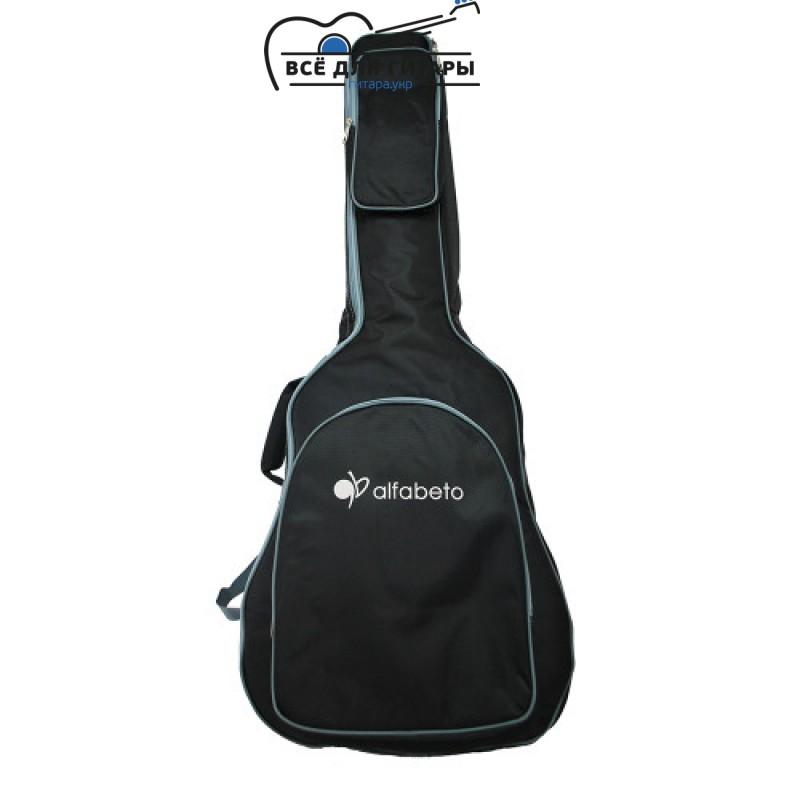 Чехол для акустической гитары Alfabeto WesternBag44