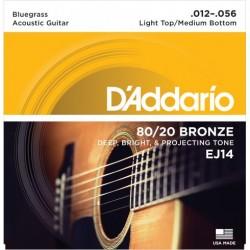 DAddario EJ14 Bluegrass Medium Light (012-056)