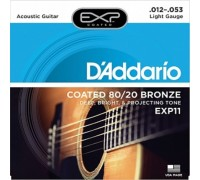 DAddario EXP11 Coated Bronze 12-53 Light