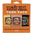 Ernie Ball Tone Pack 12-54 Medium Light