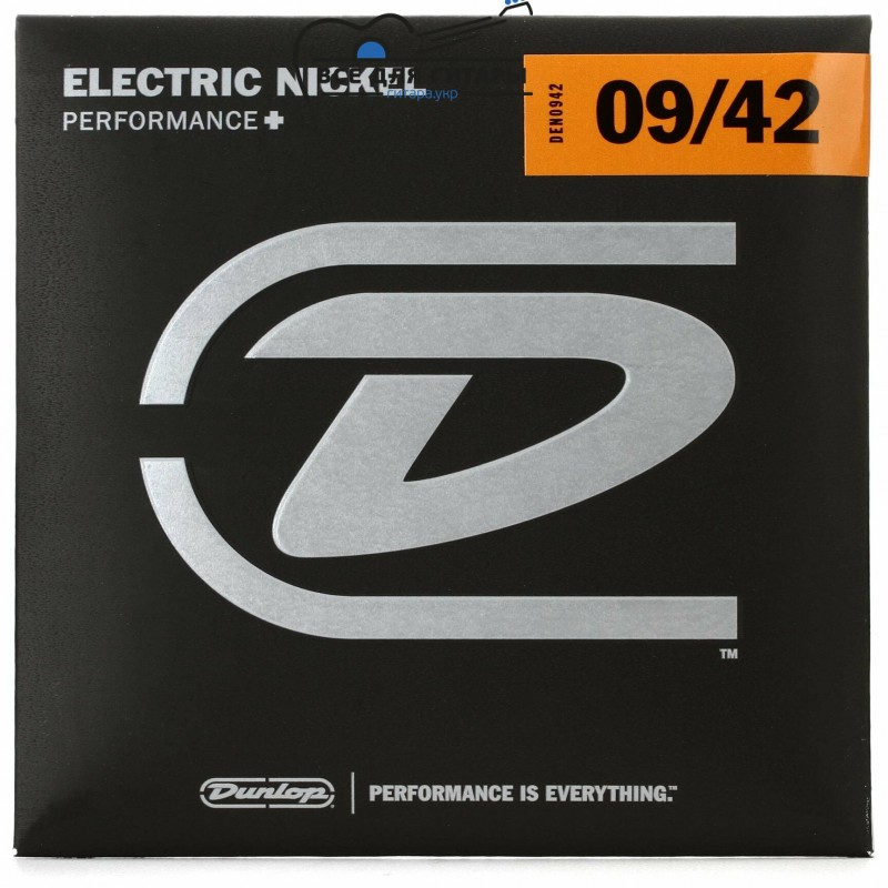 Dunlop DEN0942 Electric Nickel 09-42 Light