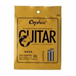 Струны Orphee NX36 для классической гитары