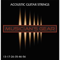 Musicians Gear Acoustic 13 Bronze (013-056)