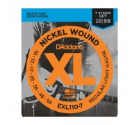 DAddario EXL110-7 XL 7-string 10-59 Regular Light